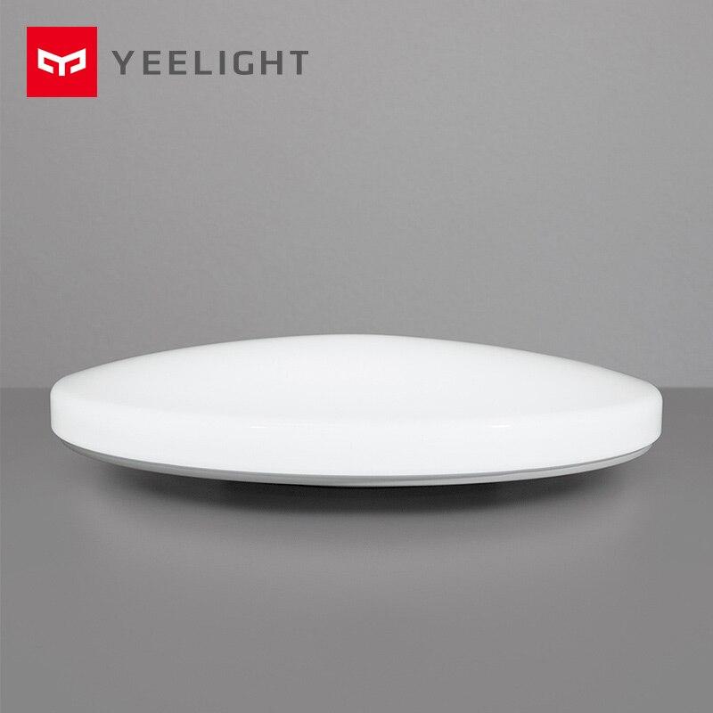 Xiaomi Yeelight Led plafond Pro 650mm RGB 50 W mi accueil app contrôle Google accueil pour amazon Echo pour xiaomi kits maison intelligente