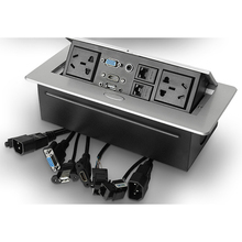 AU standaard/universal power/Tafelblad socket/verborgen/HDMI high definition multimedia desktop socket pop  up desktop socket B15