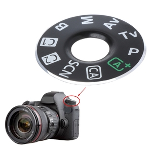 Image 3 - Camera Function Dial Mode Interface Cap Button Repair Parts For Canon EOS 6D New