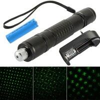 Laser Pointer Pen High Powerful Burning 1000mw Green Laser Pointer Beam Light With 18650 Battery