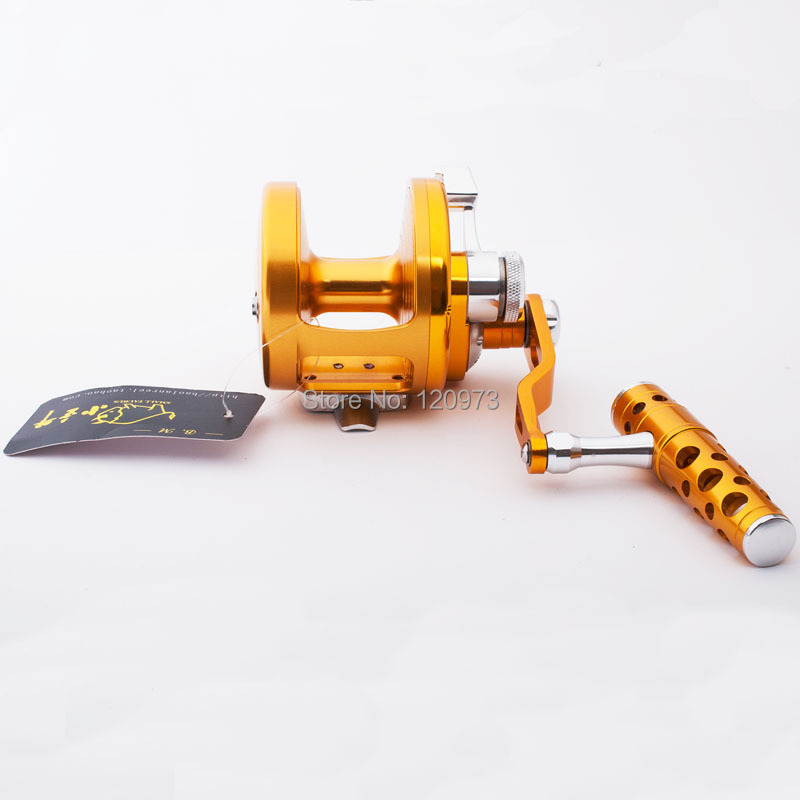 All Metal ST700LR Jigging Force Reel Jig Reels Boat Trolling Fishing Reel Sea Wheel Rustproof Casting Drum Reel metal round jigging reel 6 1 bearing saltwater trolling drum reels right hand fishing sea coil baitcasting reel