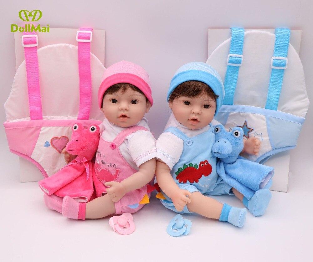 Porte bébé reborn bébé garçon fille poupées 17