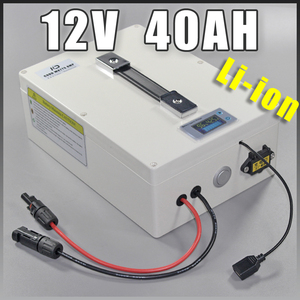 12V 40Ah Golf Car Lithium ion battery electric bike Protable battery , 500W Electric Bicycle lithium Battery 12v li-ion scooter