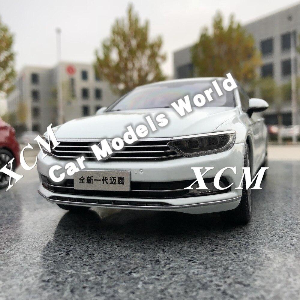 Diecast รุ่นรถสำหรับ 1:18 Next Generation ใหม่ Magotan B8 2017 (สีขาว) + ของขวัญขนาดเล็ก!!!!!!!!!!!!!!-ใน โมเดลรถและรถของเล่น จาก ของเล่นและงานอดิเรก บน   1