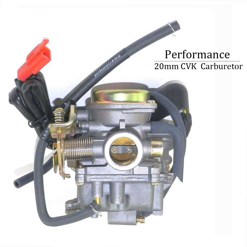 Motorcycle True 20mm Performance Carburetor For 50cc to
