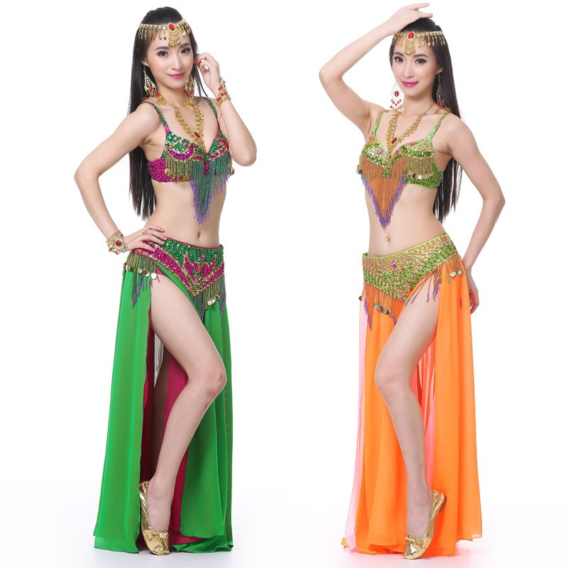 d694fbb9b مثير البطن ملابس رقص للنساء بدلة رقص شرقي البطن الرقص الملابس الهندي ...