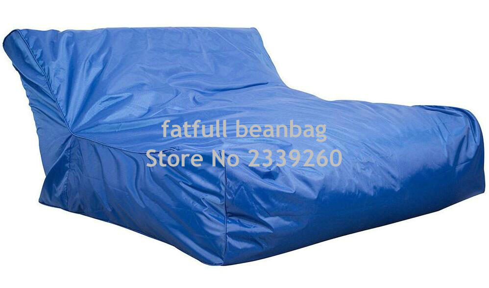 Cover Only No Filler Cobalt Blue Swimming Pool Floating Bean Bag Indoor Outdoor Waterproof