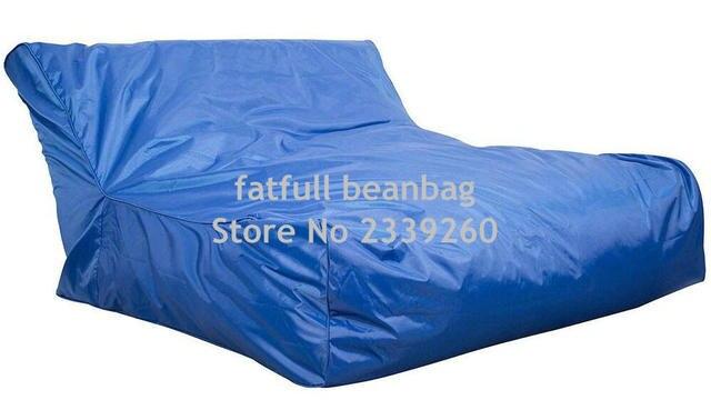Cover Only No Filler  Cobalt Blue Swimming Pool Floating Bean Bag  Indoor/Outdoor Waterproof