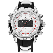 лучшая цена WEIDE Men's Quartz Top Luxury Brand Alarm Clock  Waterproof Sport Wristwatch Analog Digital Automatic time Military Army Watch
