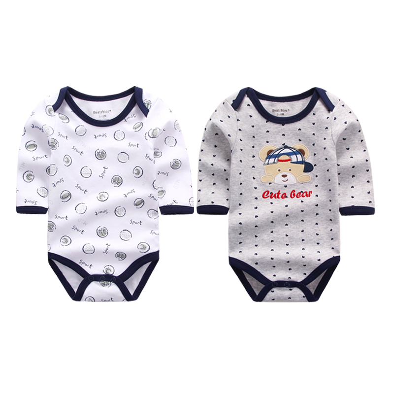 2 Pieces/lot New Style Baby Rompers Long Sleeve Infant Winter Romper Overalls Newborn Baby Clothes Jumpsuit Baby Clothing Set cotton baby rompers set newborn clothes baby clothing boys girls cartoon jumpsuits long sleeve overalls coveralls autumn winter