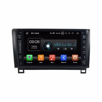 9 Quad core Android 9.0 Car GPS radio Navigation for Toyota Tundra Sequoia 2007 2011 with 4G/Wifi, DVR OBD 1080P