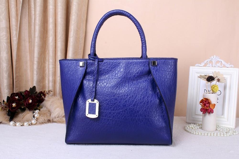 ФОТО 2016 New Women Handbag Messenger Bag  Fashional  Genuine Cowhide Leather Simple And Generous High Quality