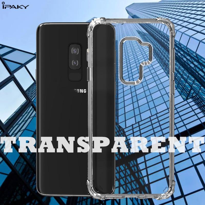 för Samsung Galaxy S10 Väska IPAKY S9 S9 Plus Tillbaka TPU Bumper - Reservdelar och tillbehör för mobiltelefoner - Foto 5
