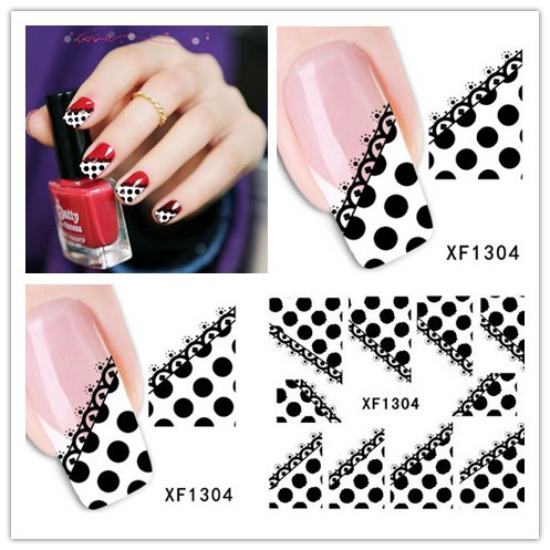 Fashion New Style Water Transfer 1 Sheet 3D Design Tips Nail Art Decorations Nail Sticker Manicure Nail Decal Nail Tools 1pcs water nail art transfer nail sticker water decals beauty flowers nail design manicure stickers for nails decorations tools