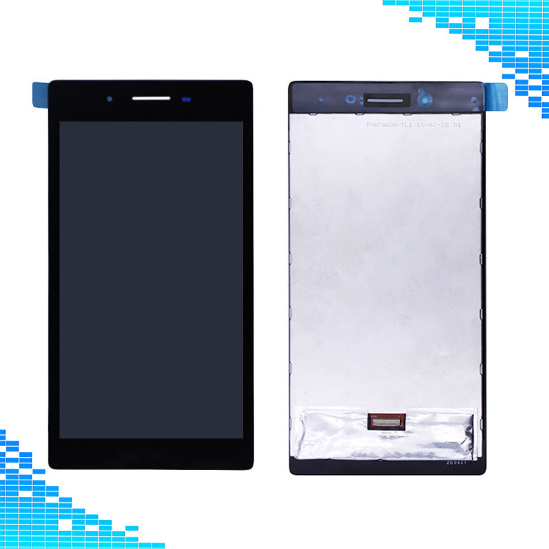 Wholescreen For Tab3 730 LCD Screen AAA quality LCD display+Touch screen assembly For Lenovo Tab 3 730 730M 730F 730X TAB3-730M все цены