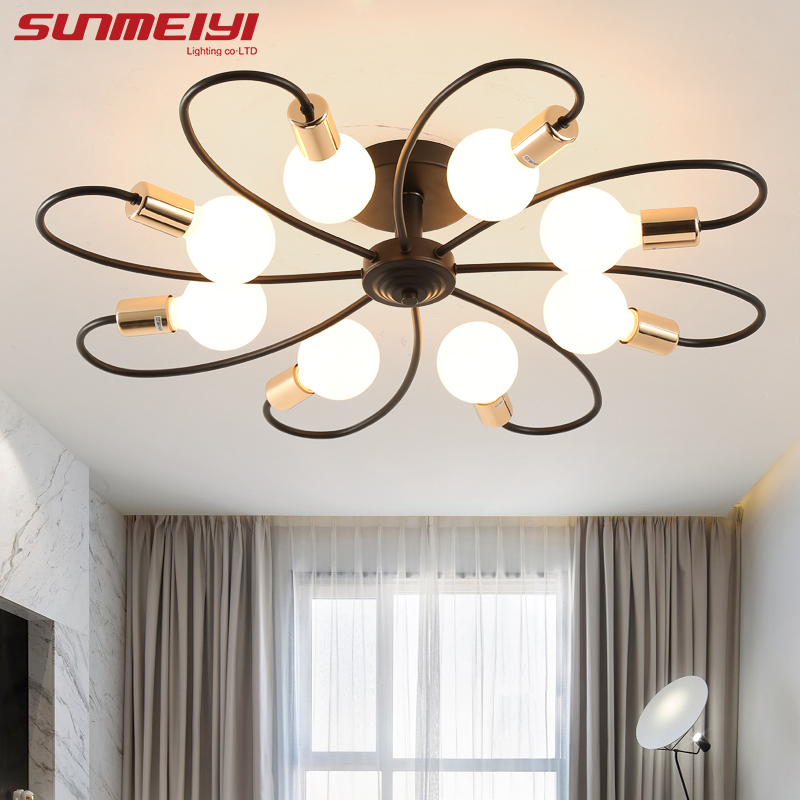 Creative Design LED Ceiling Lights luminaire plafonnier Living room Bedroom Corridor Modern Home Lighting deckenleuchte led creative diy modern led ceiling lights for living room bedroom foyer corridor home decoration lighting ceiling lamp fixture
