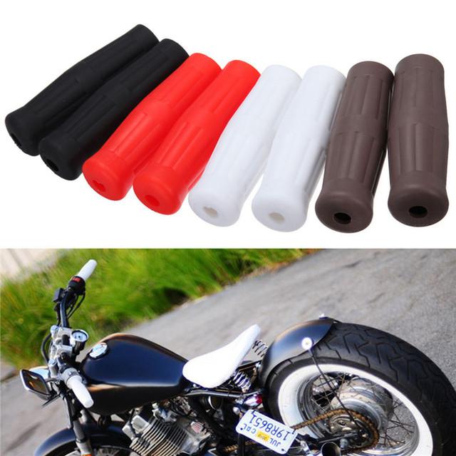 """Garrafa De coca 1 """"25mm motocicleta da bicicleta de borracha gel apertos de mão do guiador bar termina plugs alta qualidade para honda yamaha suzuki kawasaki"""