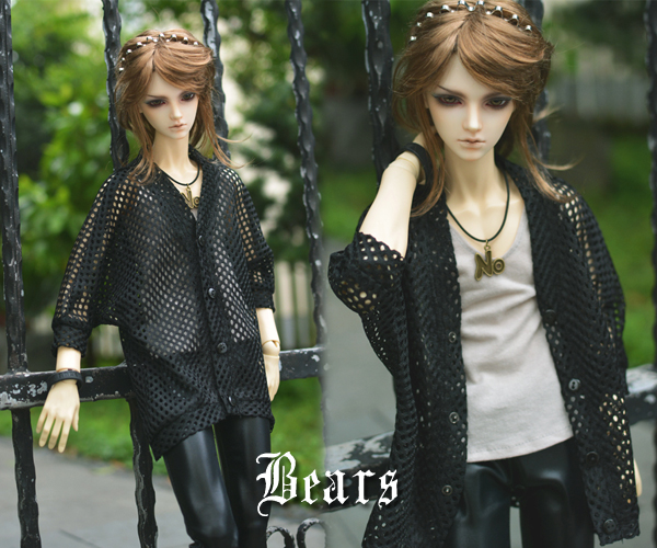 1/3 1/4 scale BJD clothes Bat cardigan coat doll accessories for BJD/SD EID.Not included doll,shoes and other accessories NO0546