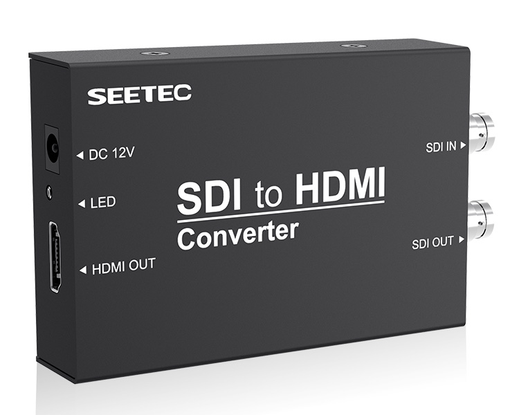 SEETEC New Release Mini Broadcast Converters Professional 3G-SDI Connections SDI to HDMI Converter STH connections