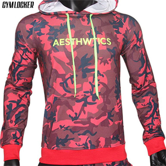 GYMLOCKER Brand Male Hoodies Top Pullover for Autumn Men Sweatshirt Clothe Long Sleeve Pocket Warm Hooded Sweatshirt Tracksuits