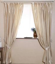 2pcs High Grade 60 shade artificial silk solid 4 colors bedroom font b curtains b font