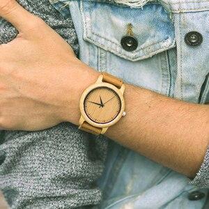 Image 2 - BOBO ptak zegarki bambusowe pary zegarki miłośników ręcznie naturalne drewno luksusowe zegarki na rękę idealne prezenty przedmioty OEM Drop Shipping