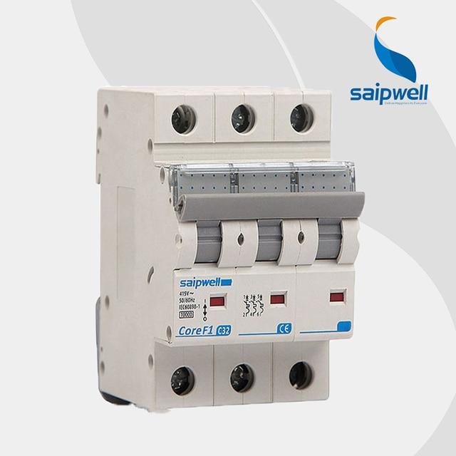 Wholesale Saipwell 3P SPF1 3 63 C32 earth leakage 32 amp circuit ...