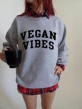 Vegan Vibes crewneck sweatshirt