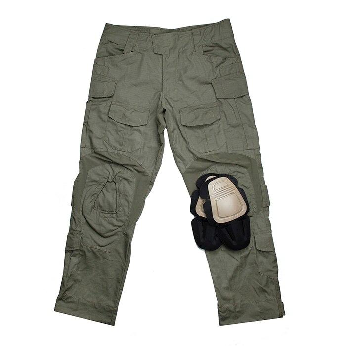 TMC Ranger Green USA Size Tactical G3 Combat Pants With Knee Pads Set(SKU051196)