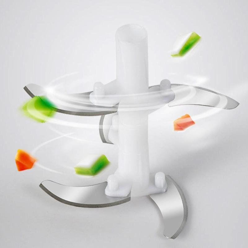 US $8 92 29% OFF|Multifunction Vegetable Chopper Cutter Processor Chopper  Garlic Cutter Vegetable Fruit Twist Shredder Manual Meat Grinder juice-in