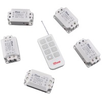 TOWE AP WSK1 D 5 Wireless 220V 10A Five Way Remote Control Switch 1 Controller Through