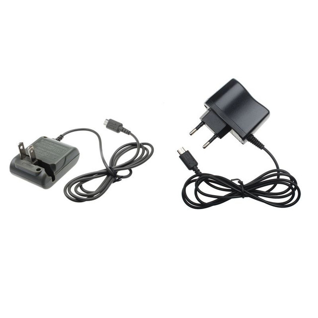 DC 5.2V 450mA EU US Home Travel Wall Charger Power Adapter for Nintendo DS Lite NDSL For Micro USB