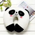 Free Shipping comfortable Multi-Color Cartoon U Shaped neck travel pillow automatic Neck Support Head Rest Cushion