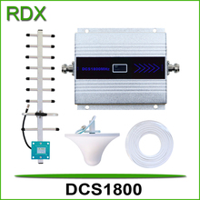 New model lcd cellular dcs1800 booster mobile phone 4g dcs1800mhz repeater amplifier cellphone dcs 1800mhz signal