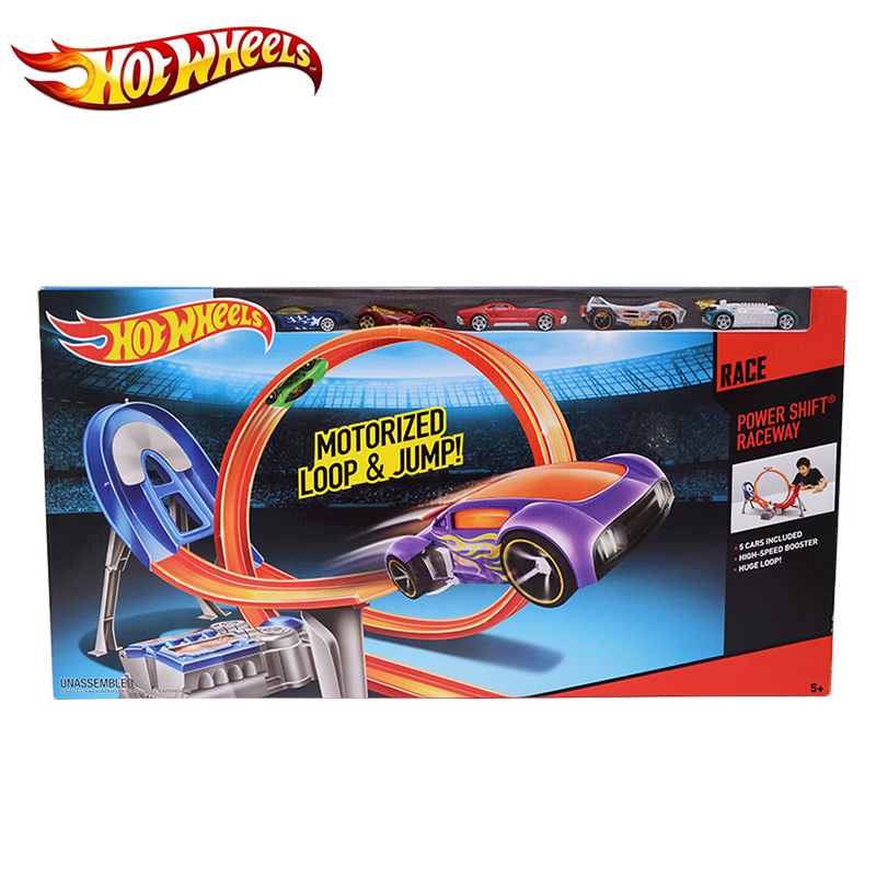 Hot Wheels Electric Car Track Plastic Matal Railway Vehicles Kid Toy Brinquedo Educativo Hotwheels Clic Y3105 For Gift In Casts