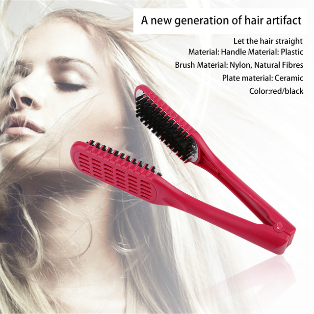 Double Sided Hair Straightening Comb 2