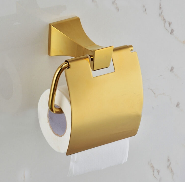 Free Shipping golden color toilet paper holder tissue paper holder gold  bras paper holder GB004a Online Buy Wholesale gold color toilet from China gold color  . 24k Gold Toilet Paper. Home Design Ideas