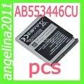 Оригинал AB553446CA AB553446CE AB553446CU Батареи Для сотового телефона F488 F480 W509 W569 i620 1000 мАч