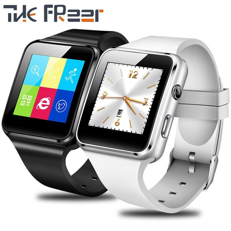 TOP smart watch las mujeres llaman reloj TF llamaron Multi-idioma digital Reloj de mujer reloj del silicio IOS Android PK GT08 A1 reloj deportivo
