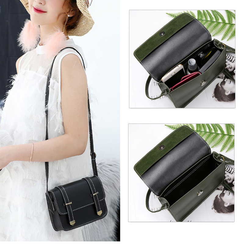 Luxury Leather phone bag case for iphone samsung huawei smartphone Ladies Messenger Crossbody Wallet Bag Retro Vintage Cover