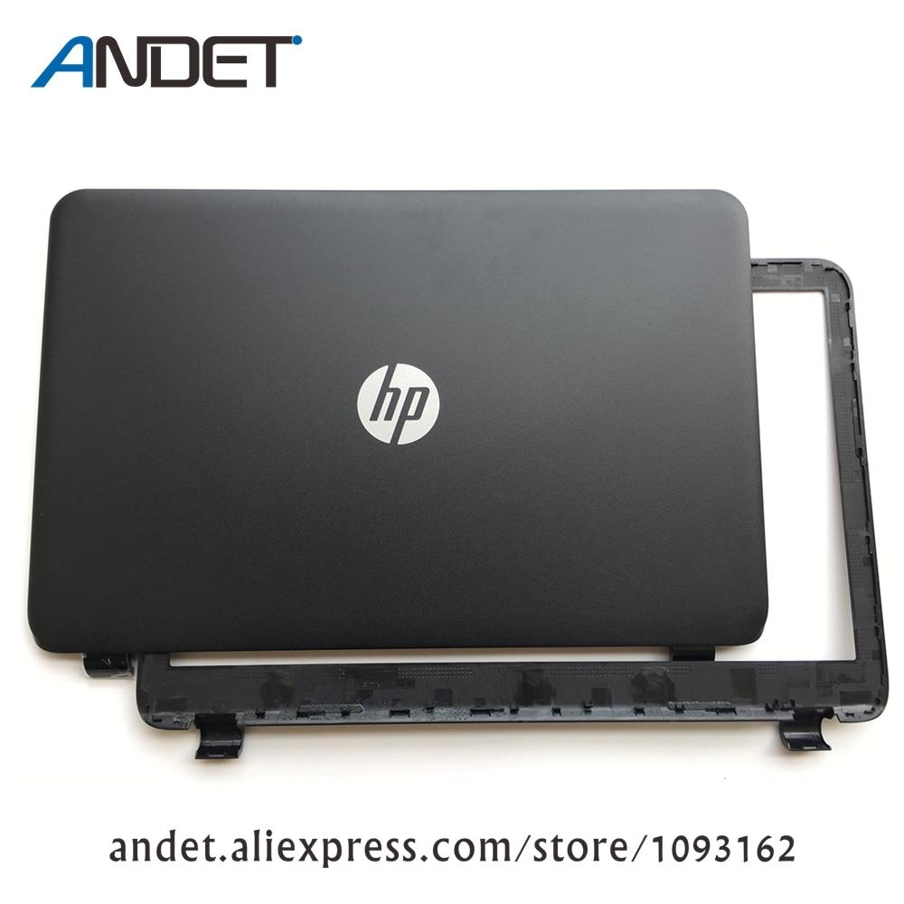 New For HP 15-G 15-H 15-R 15-T 15-Z LCD Rear Back Cover Top Lid Matte Black 761695-001 749641-001 оборудование для мониторинга ideas 001 15