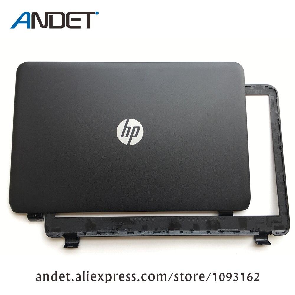 Nuovo Per HP 15-G 15-H 15-R 15-T 15-Z LCD Posteriore Back Cover Top Coperchio Nero Opaco 761695-001 749641-001