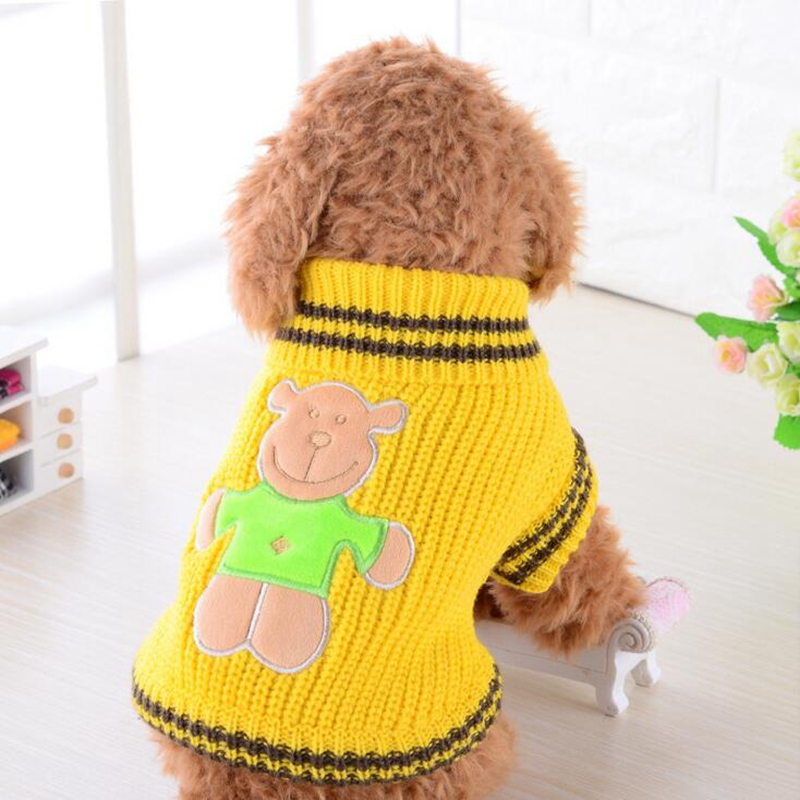 Dog Sweaters 2018 Pet dog sweater autumn and winter clothes puppy clothes Teddy Bulldog Husky sweater clothing KT001