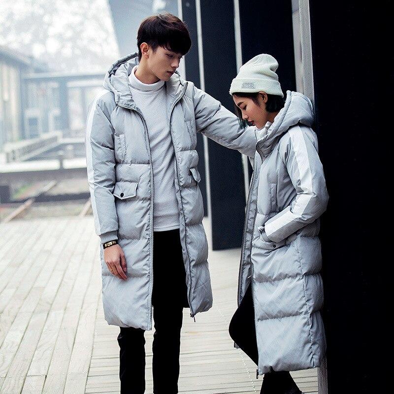 2018 Mantel Mode Winter Männer Paare Outwear Jacken Und Mäntel Koreanische Beiläufige Unten Jacke Mit Kapuze Männlichen Tops Plus Größe 5xl Zt276 SchüTtelfrost Und Schmerzen