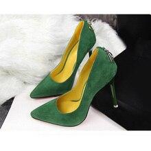Pumps Brand Women Shoes High Heels Sexy Pointed Toe Red High Heels women Wedding Shoes women stiletto
