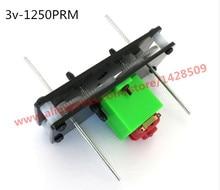 цены hight quanlity  Micro DC motor 130 (c5) gear motor duplex bearing for model of tank making