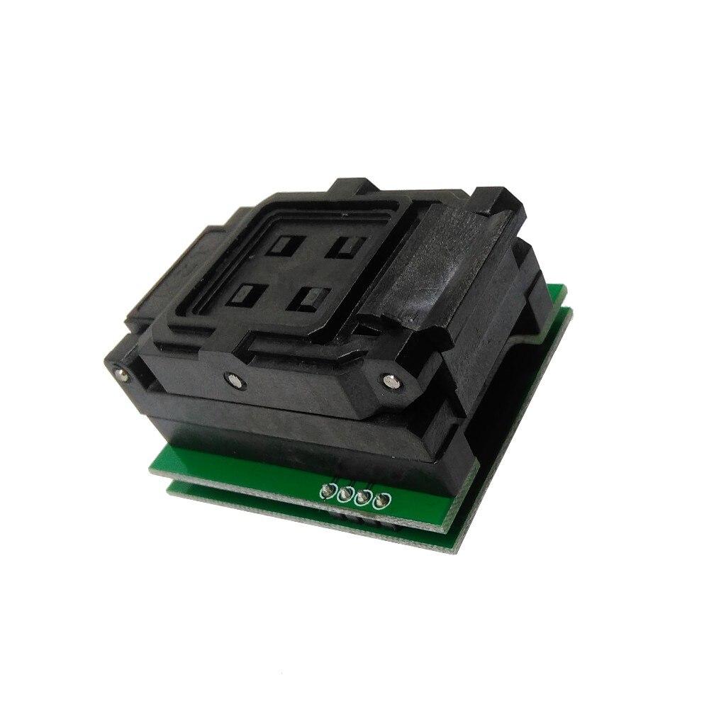 BGA24 à DIP8 IC adaptateur prise pour 8x6mm largeur du corps BGA puces SMT/SMD prise de Test - 4