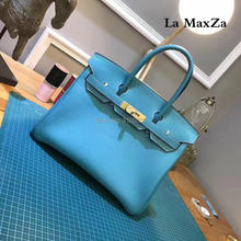 2017 fashion luxury brand runway head layer leather bag jacket high-end ladies handbag CL70230