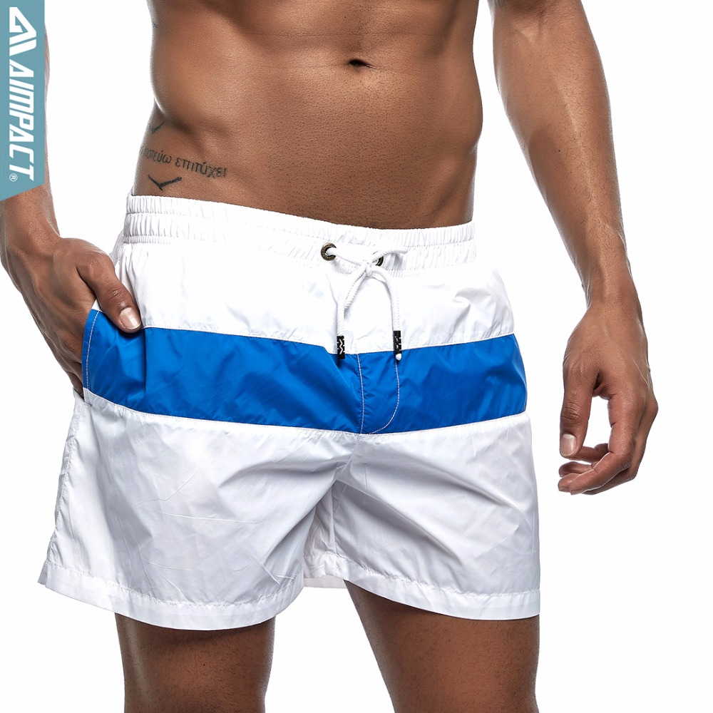 d9f80c5147 Aimpact Mens Board Shorts Fashion patch work Swimwear Quick Dry beach  shorts Casual Active Surf Swim Trunks Male Gym shorts E307-in Board Shorts  from Men's ...