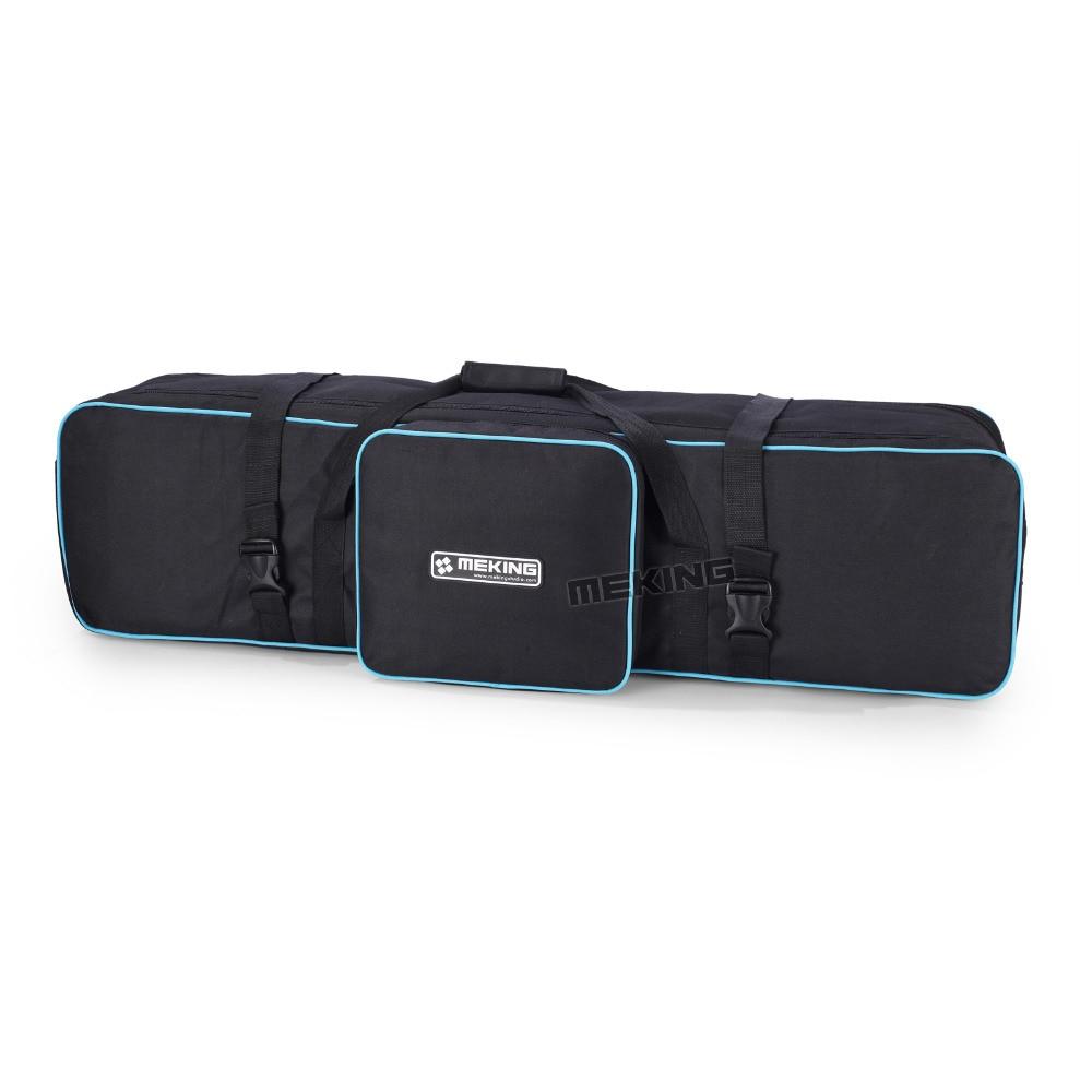 Meking photographie équipement padd zipper sac 105 cm/43in pour stands de lumière parapluies trépied étanche fotografia sacs de transport